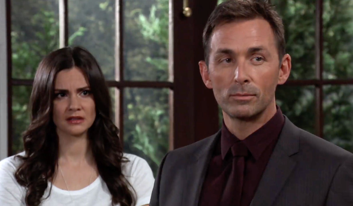 Valentin waits on Lucy's vote on GH