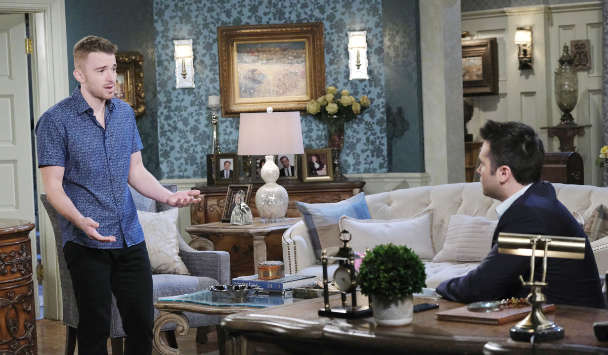 Will tries to explain to Sonny on Days of our Lives