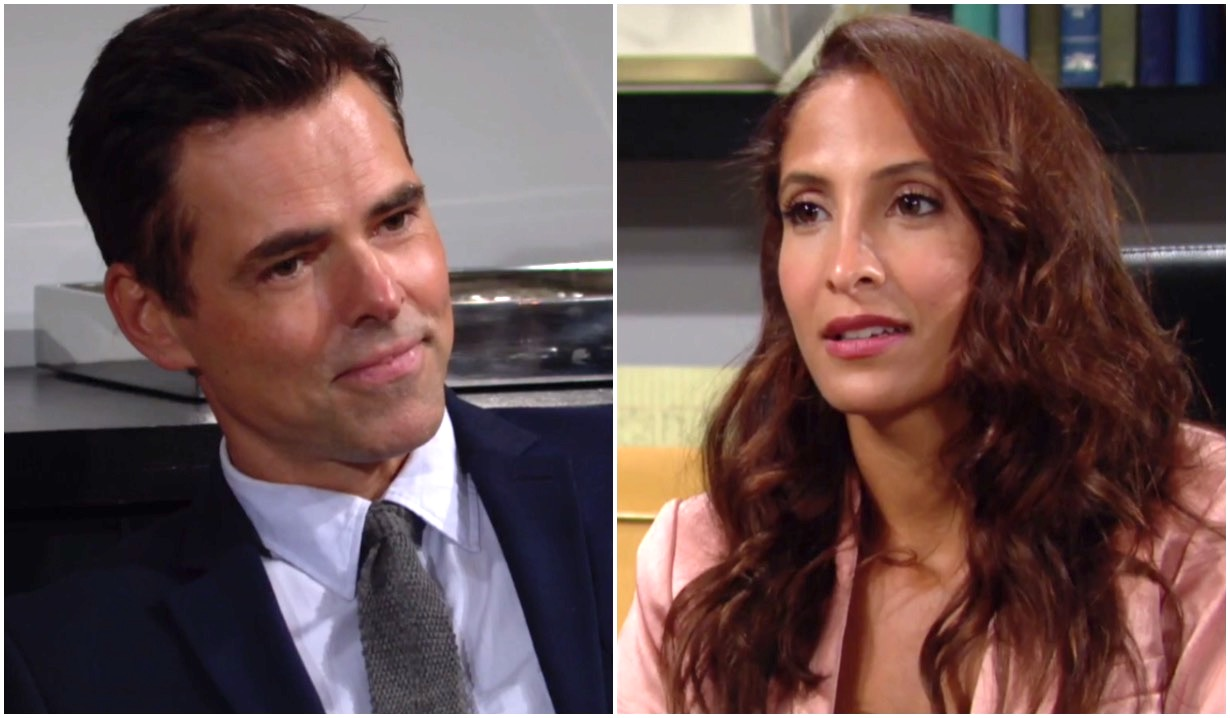 young restless first episode preview billy lily video
