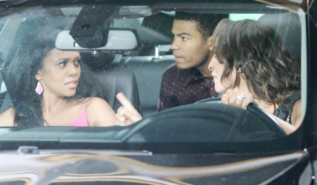 """Mishael Morgan, Christel Khalil, Noah ALexander Gerry """"The Young and the Restless"""" hw"""