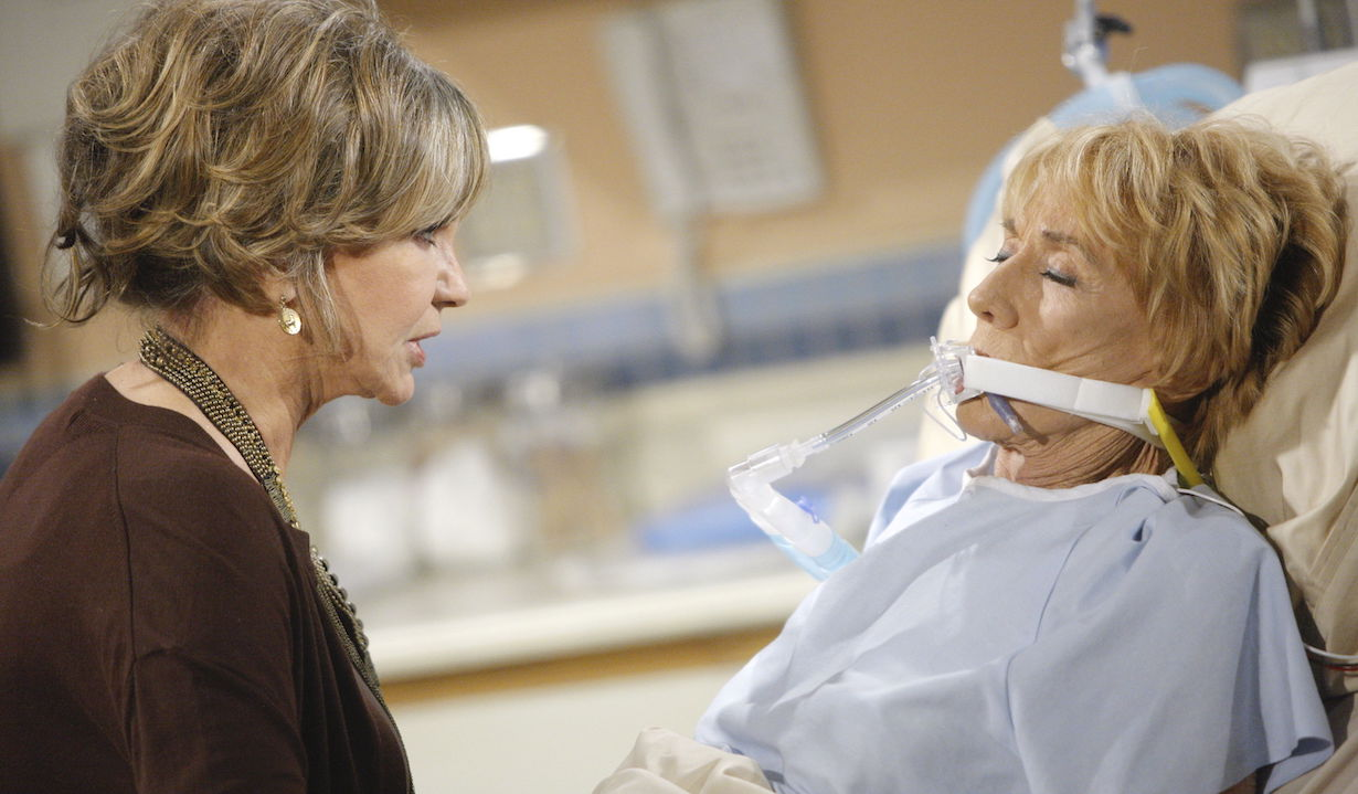 "Jess Walton, Jeanne Cooper ""The Young and the Restless"" jill katherine ss"