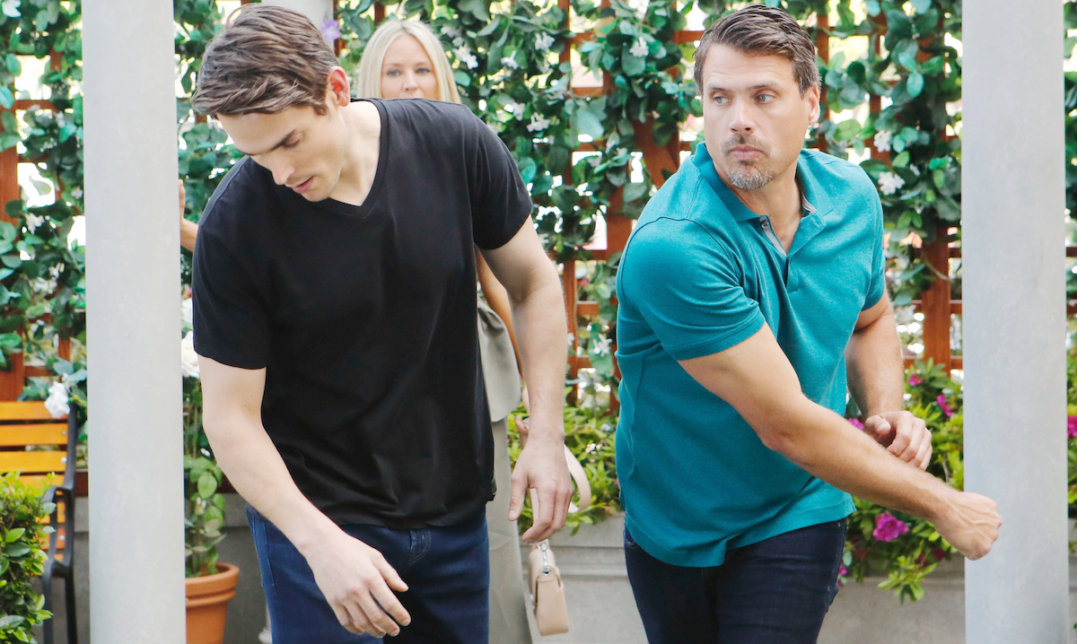 Joshua Morrow, Mark Grossman, yr nick adam punch hw