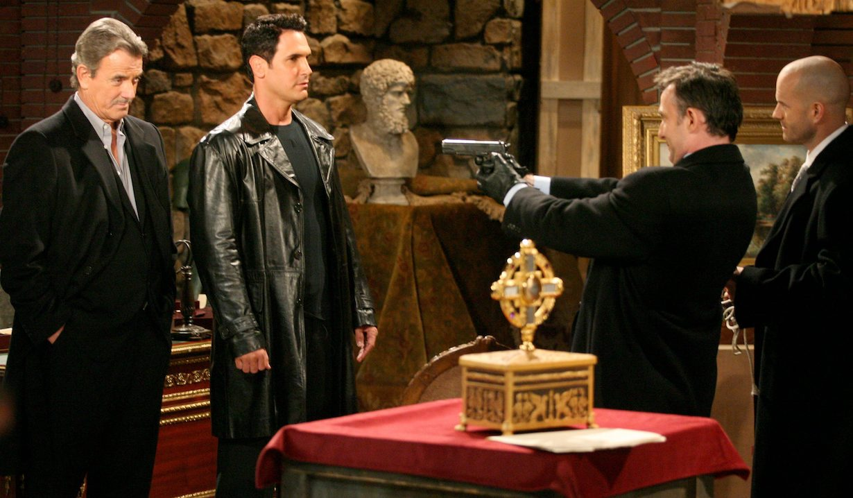 """Eric Braeden, Don Diamon t""""The Young and the Restless"""" reliquary victor brad am"""