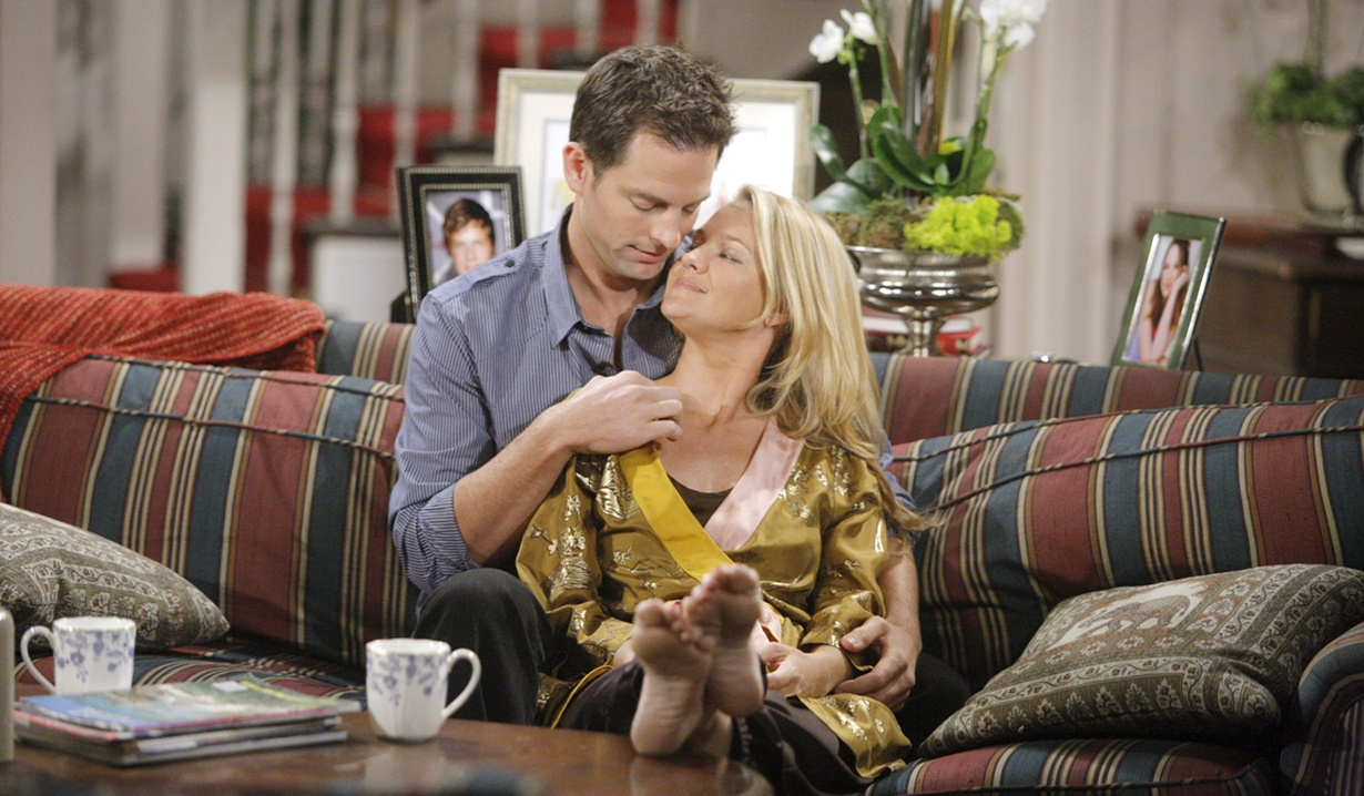 Adam, Sharon fall love Y&R