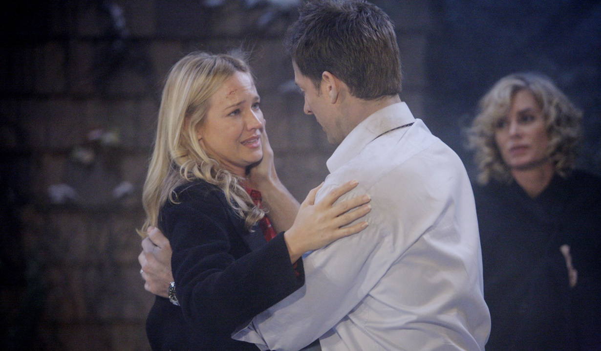 Sharon, Adam fire rescue Y&R