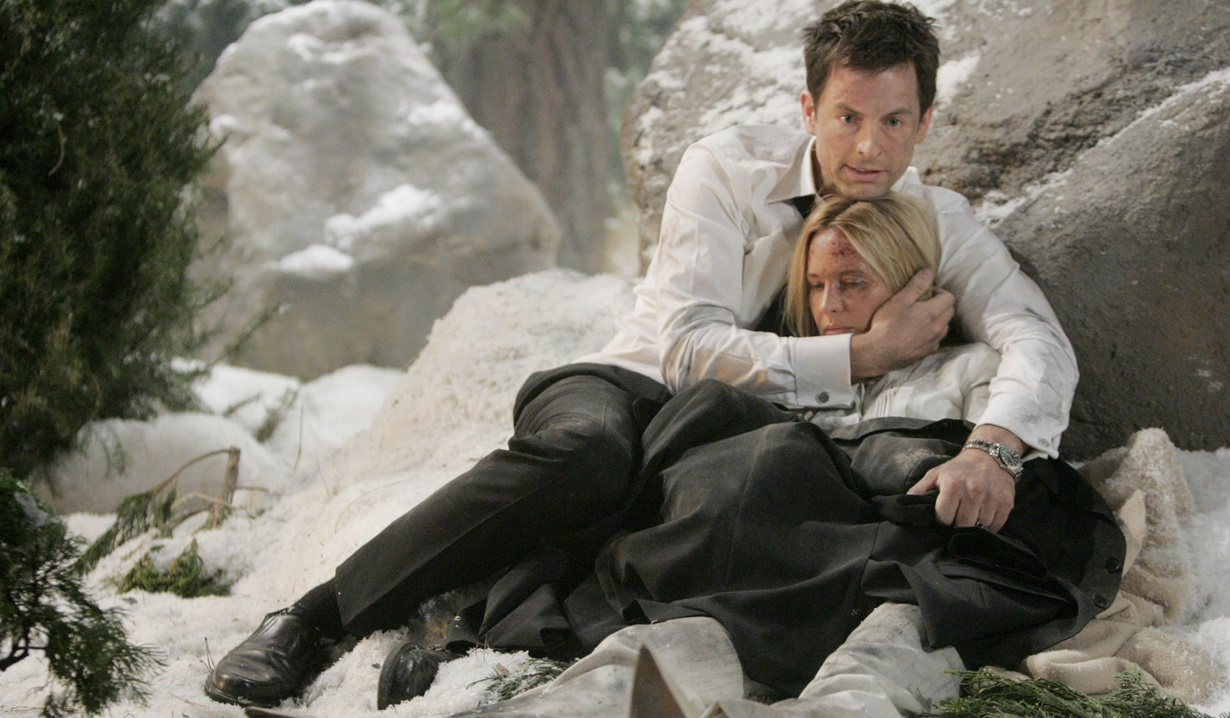 Sharon, Adam plane crash Y&R