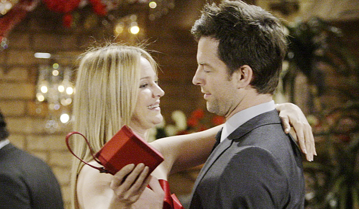 Sharon, Adam proposal Y&R