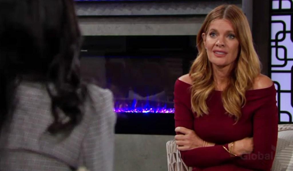 Amanda talks Phyllis Y&R