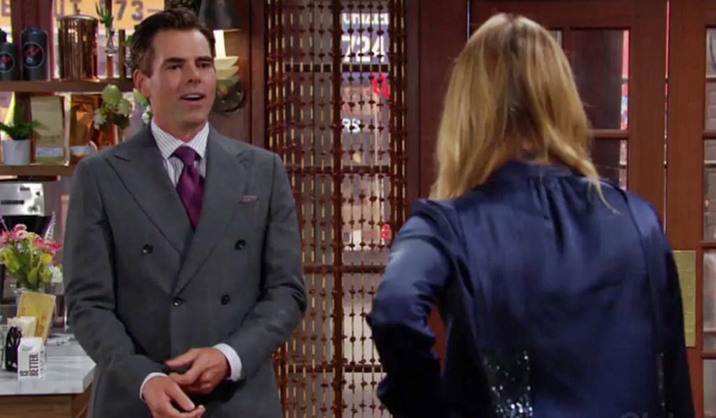 Billy, Phyllis spar Y&R