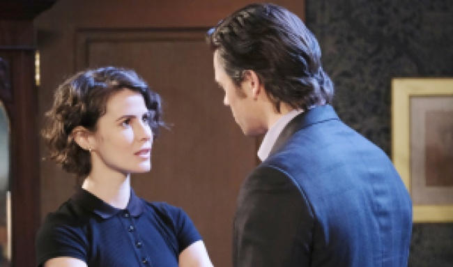 "Paul Telfer, Linsey Godfrey""Days of our Lives"" SetNBC StudiosBurbank02/10/20© XJJohnson/jpistudios.com310-657-9661Episode # 13947U.S.Airdate 09/28/20"