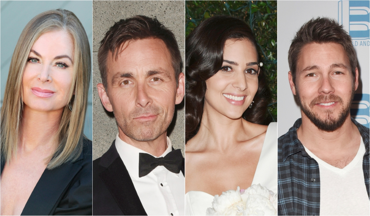 Eileen Davidson James Patrick Stuart Camila Banus Scott Clifton Days of our Lives General Hospital Bold and the Beautiful Young and the Restless