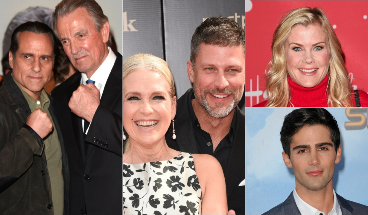 Eric Braeden Maurice Benard Melissa Reeves Greg Vaughan Alison Sweeney Max Ehrich Days of our Lives General Hospital Bold and the Beautiful Young and the Restless