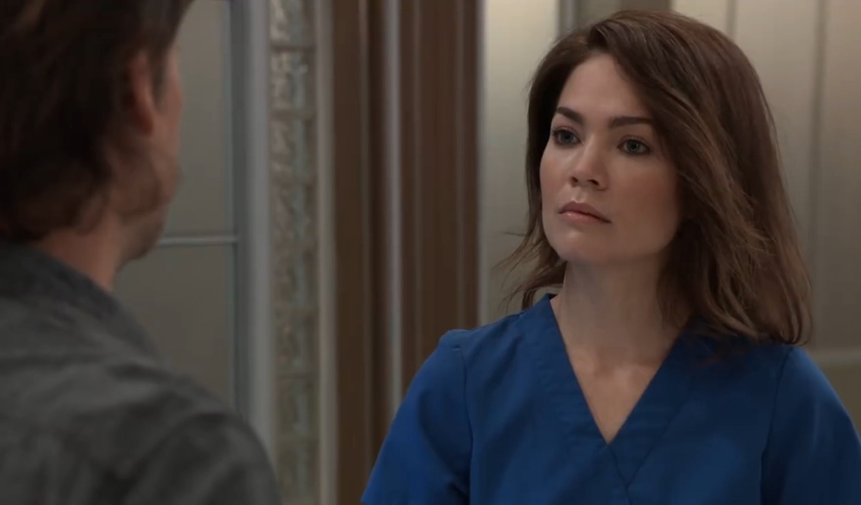 Franco tells Liz they need to talk at General Hospital