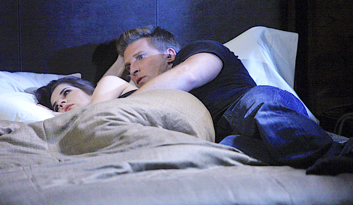general hospital jason comforts sam in bed