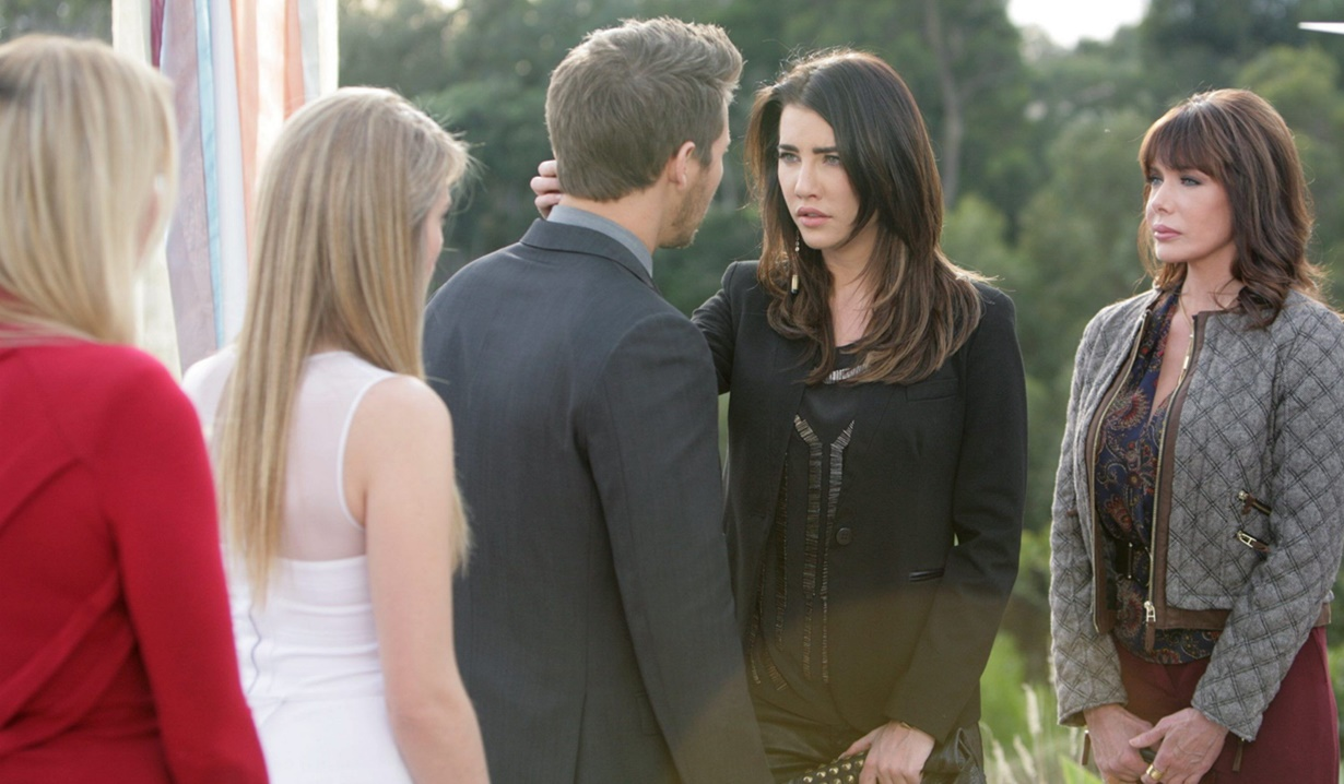 Hope, Liam, wedding, Steffy interrupt B&B