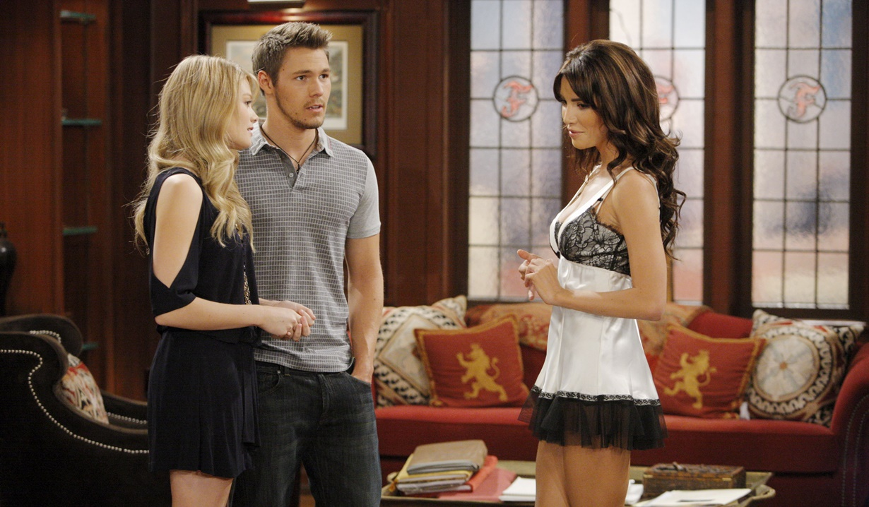 Hope, Liam, Steffy young B&B