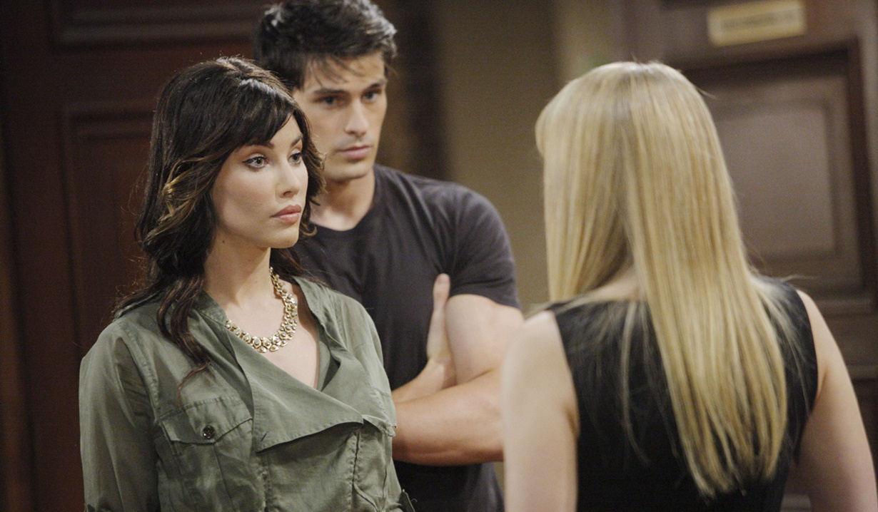 Hope, Steffy, Thomas face-off B&B