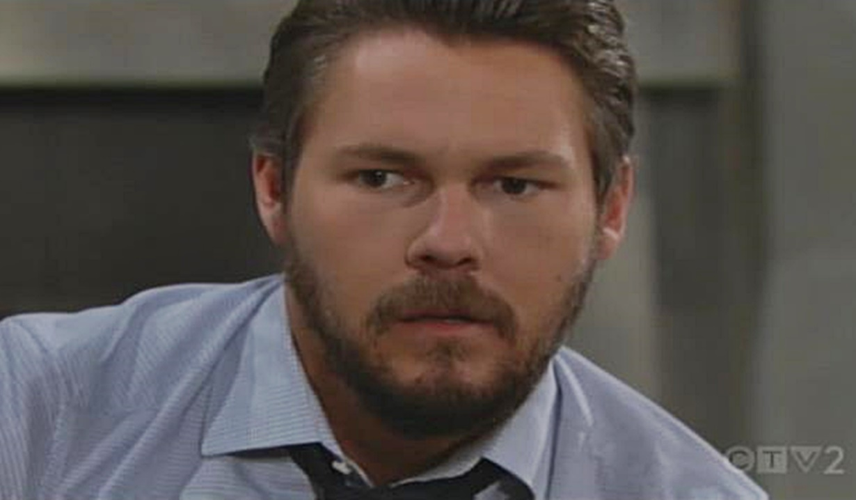 Liam finds Steffy passed out B&B