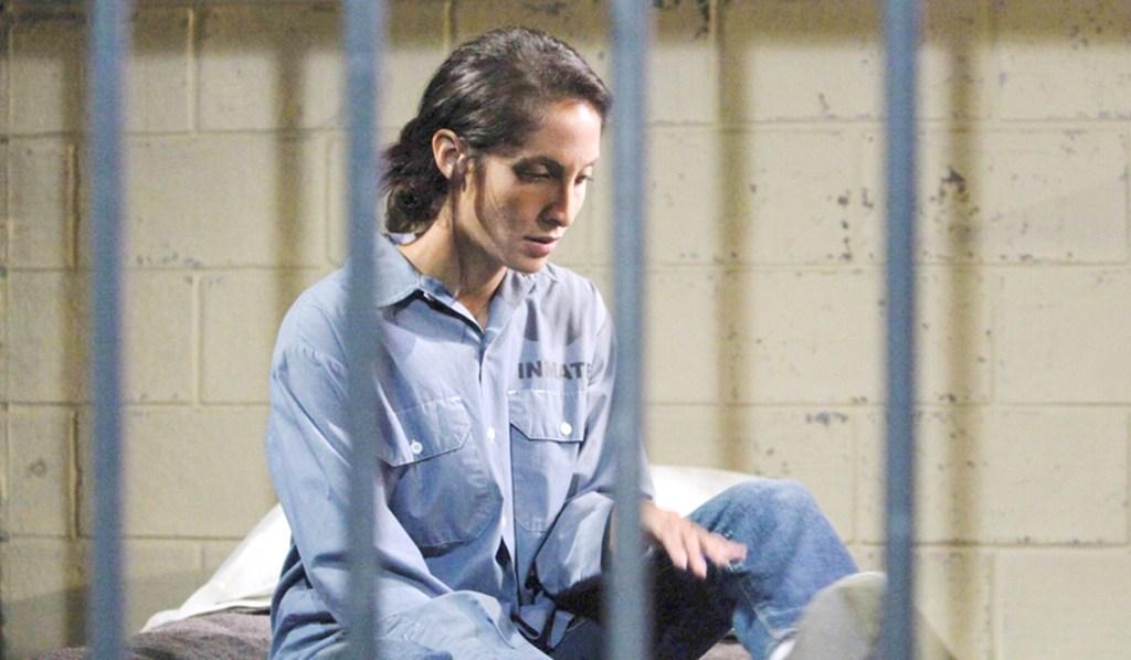 Lily jail Y&R