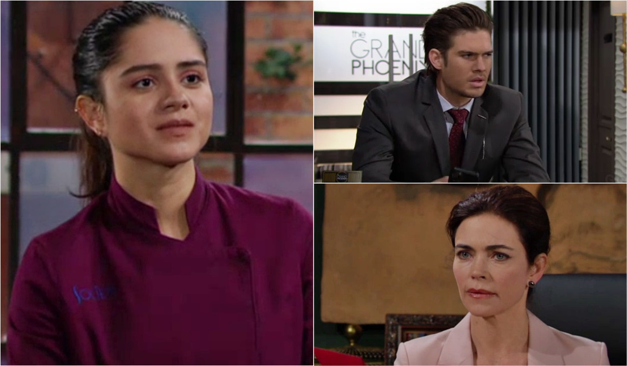 Lola, Theo, Victoria speculation Y&R