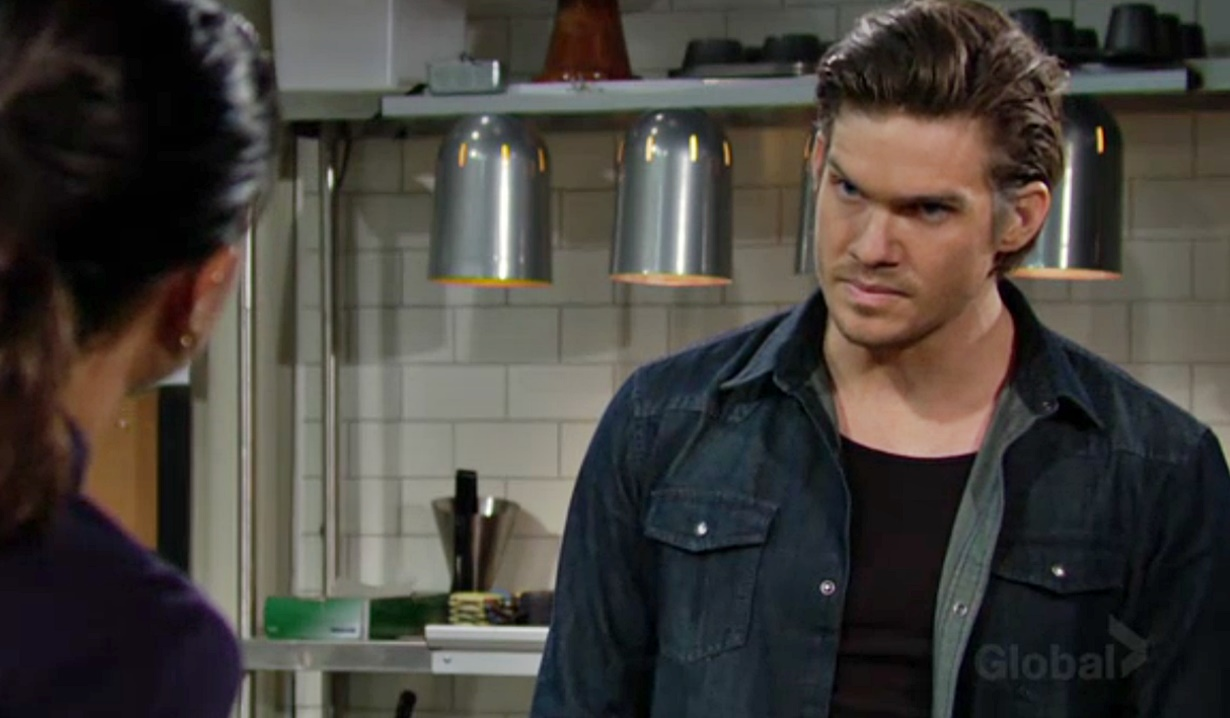 Lola order Theo out Y&R