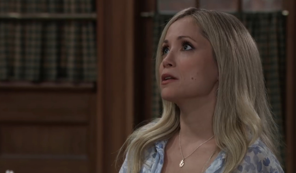 Lulu asks Nikolas how he upset Liz at Kelly's General Hospital