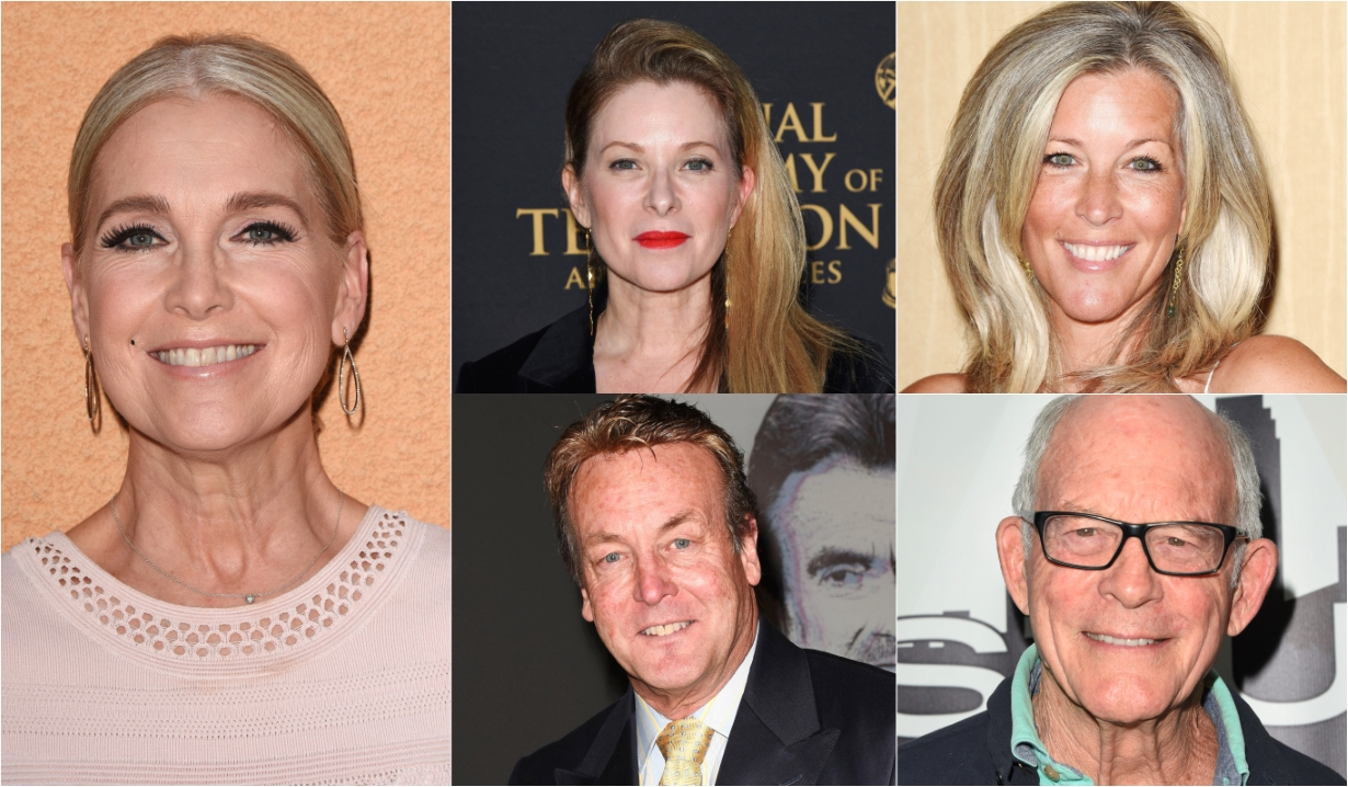 Melissa Reeves Cady McClain Doug Davidson Laura Wright Max Gail Days of our Lives General Hospital Bold and the Beautiful Young and the Restless