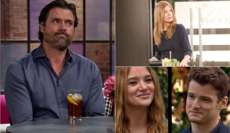 Nick, Phyllis, Summer, Kyle engagement Y&R