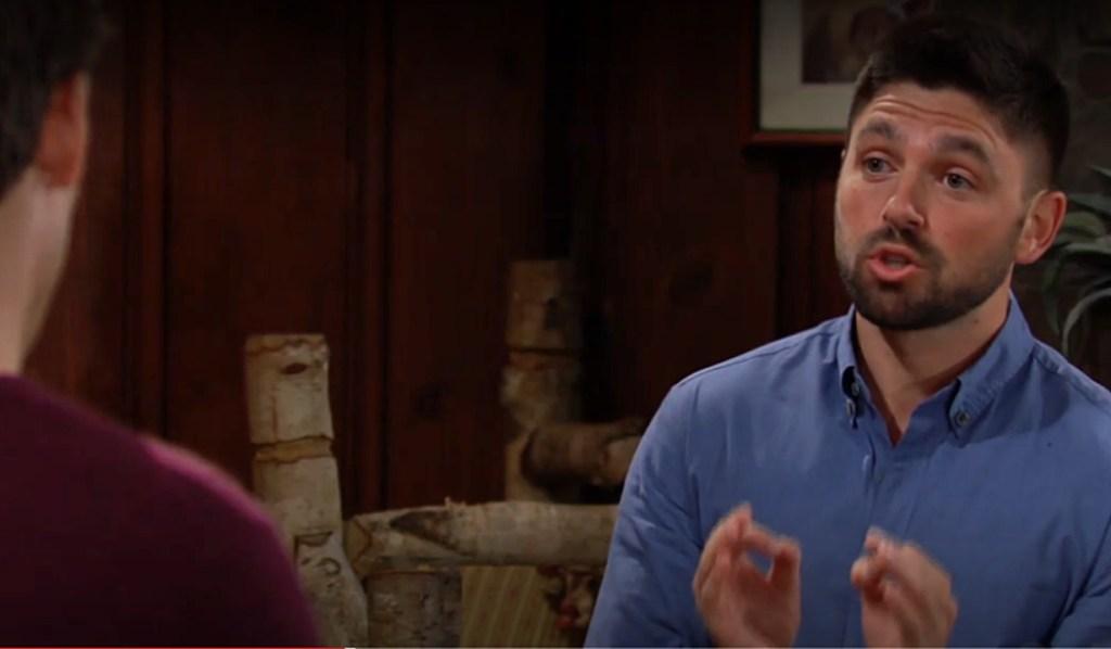 Noah rants at Adam Y&R