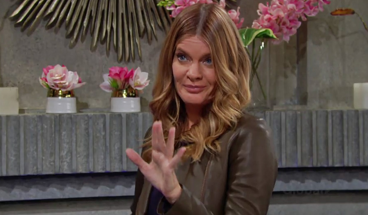 Phyllis freak out Y&R
