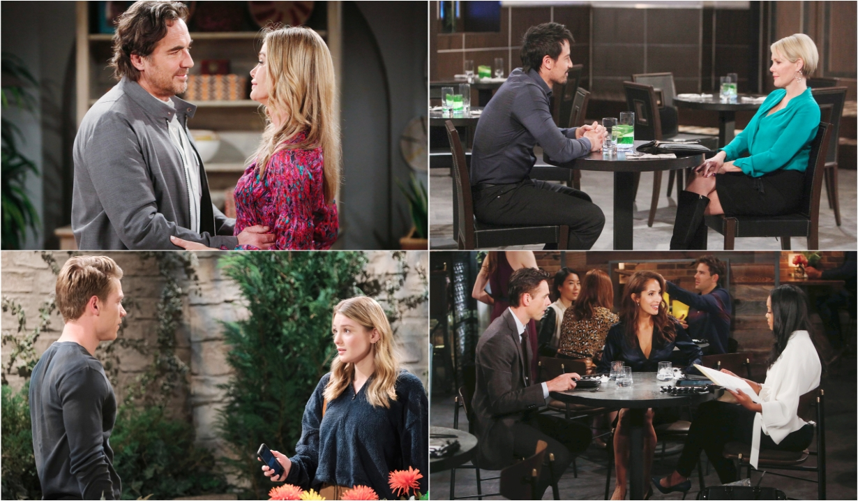 9-26-20 spoilers for bold and beautiful days of our lives general hospital young and restless