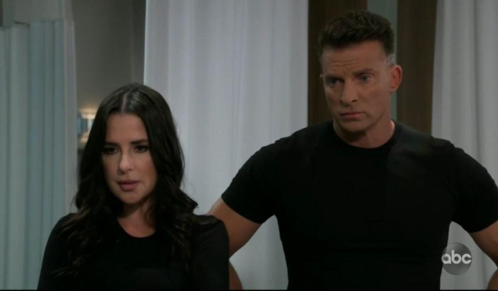 Jason and Sam check on Brando at General Hospital