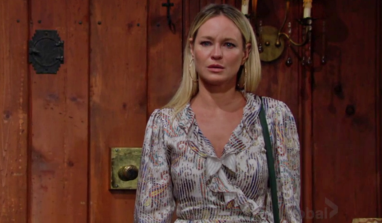 Sharon bad news Y&R