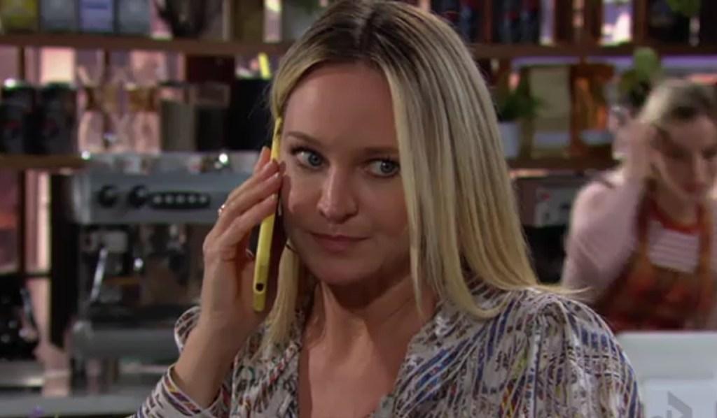 Sharon calls doctor Y&R
