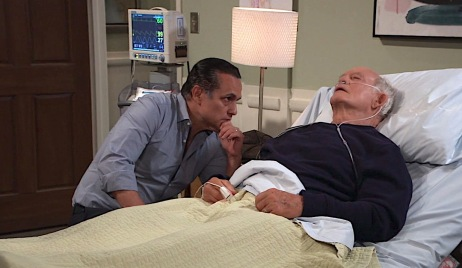 general hospital Sonny Mike Dying Hospital Screenshot