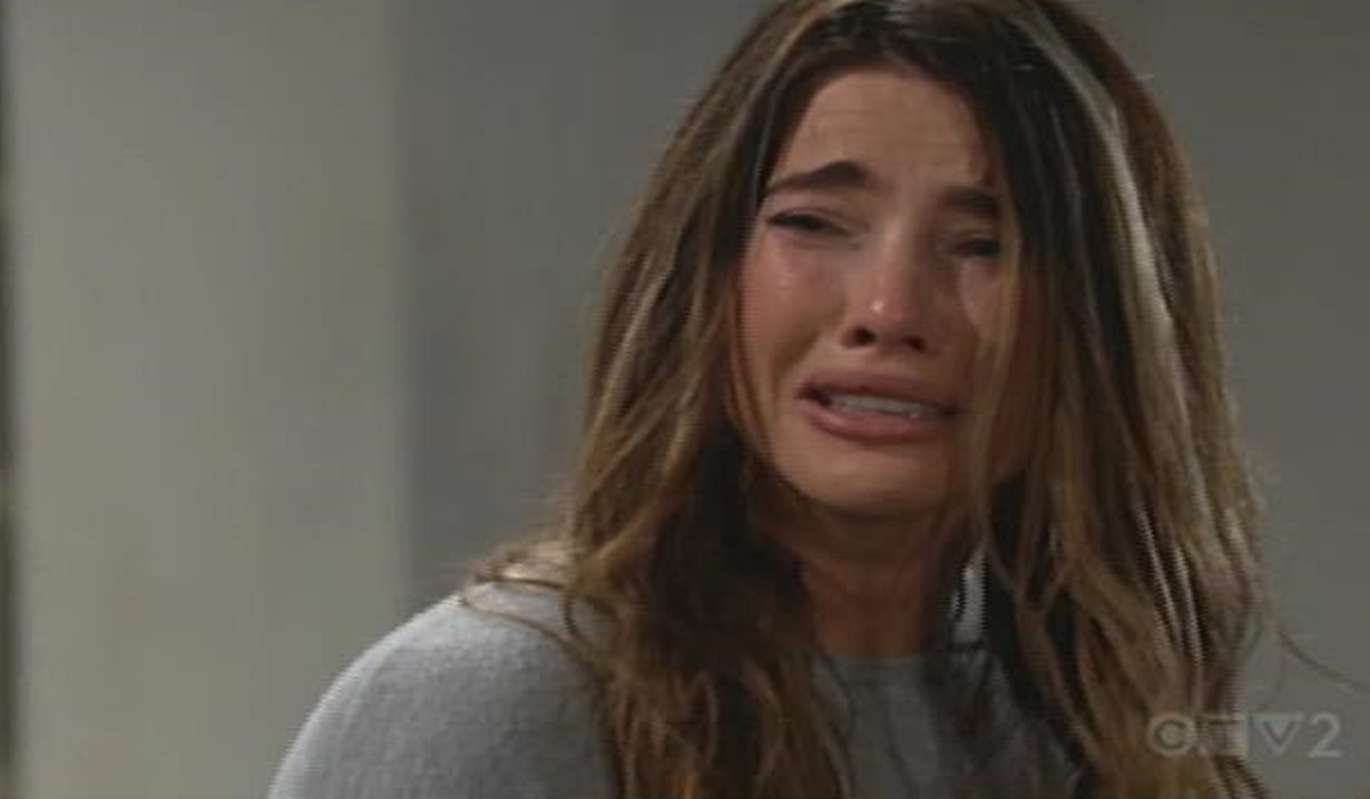 Steffy breaks down B&B