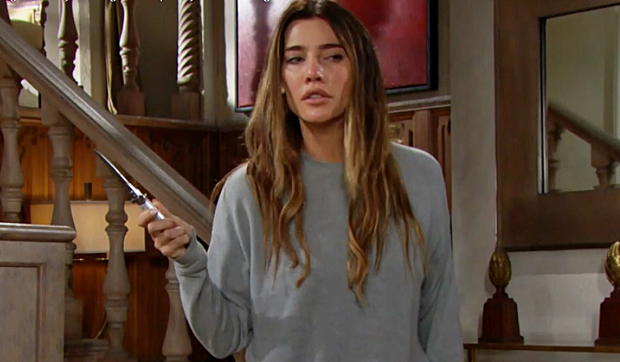 bold beautiful steffy knife