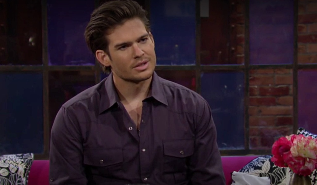 Theo talks to Lola Y&R