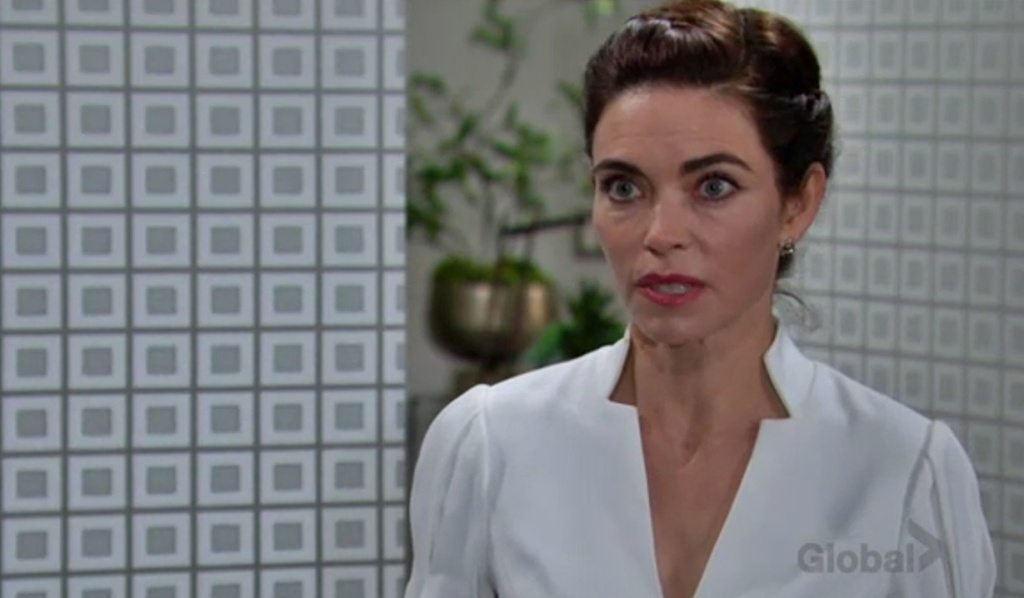 Victoria goes off on Billy Y&R
