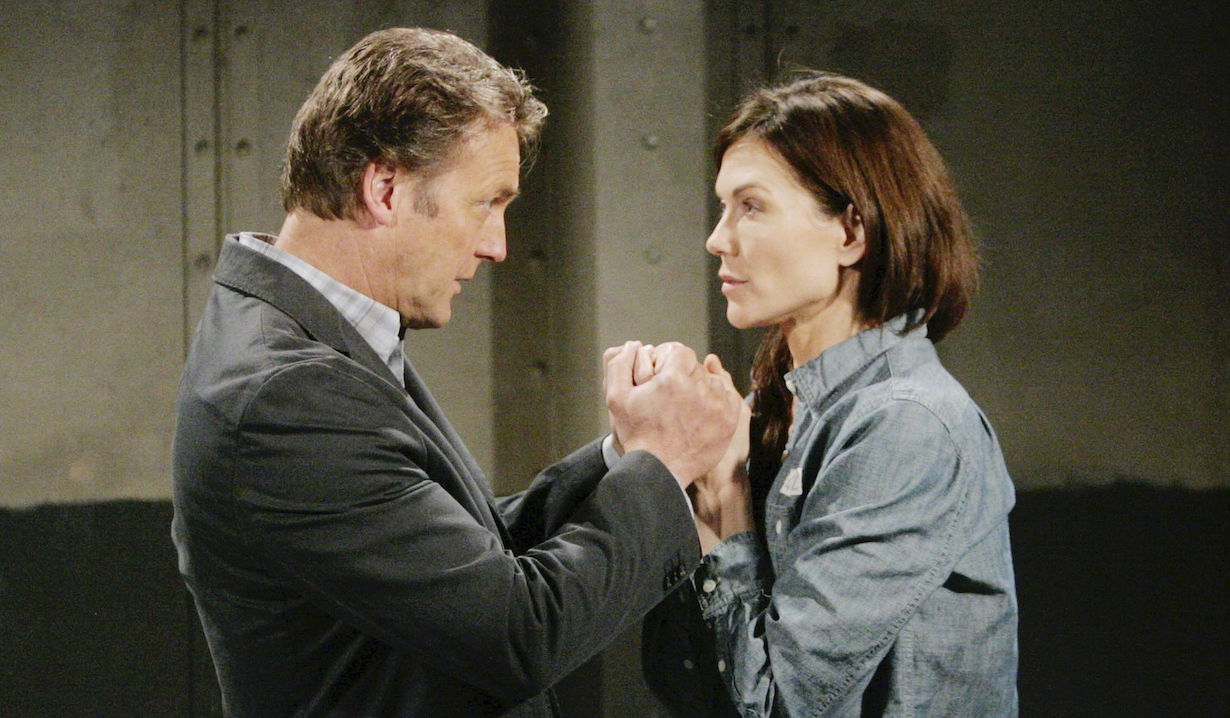 Young Restless Paul Patty Holding Hands