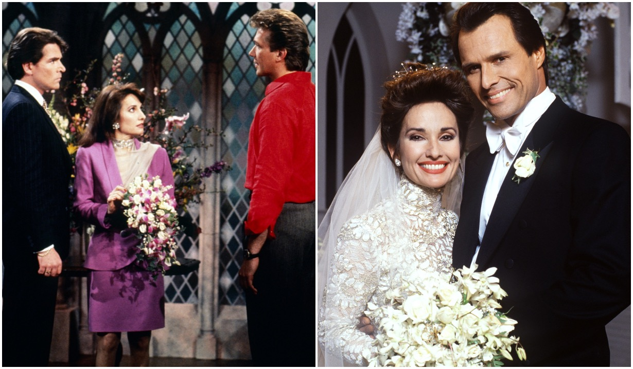 all my children erica weddings travis dimitri susan lucci michael nader larkin malloy