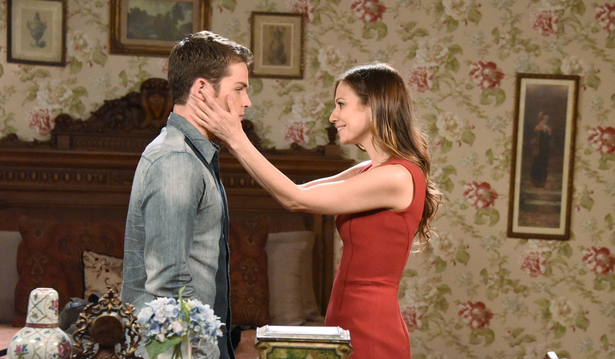 Ava and Joey on Days of our Lives