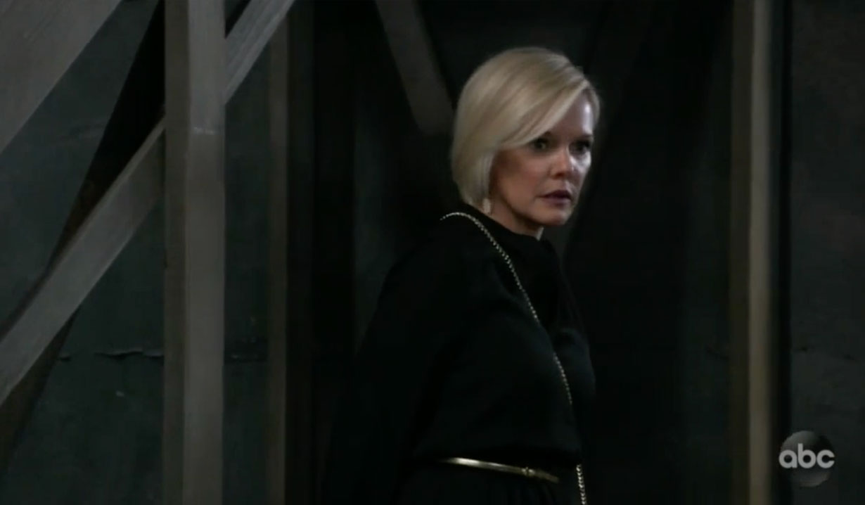Ava meets blackmailer on GH