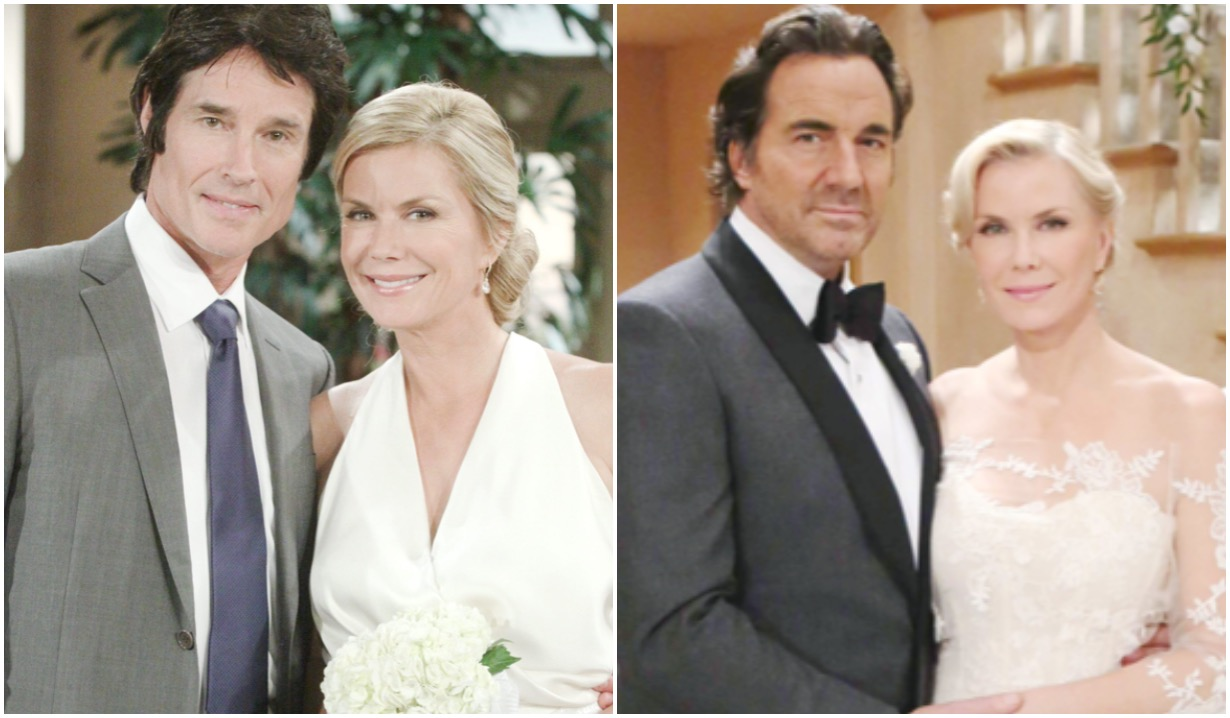 bold and beautiful ridge and brooke weddings katherine kelly lang thorsten kaye ronn moss