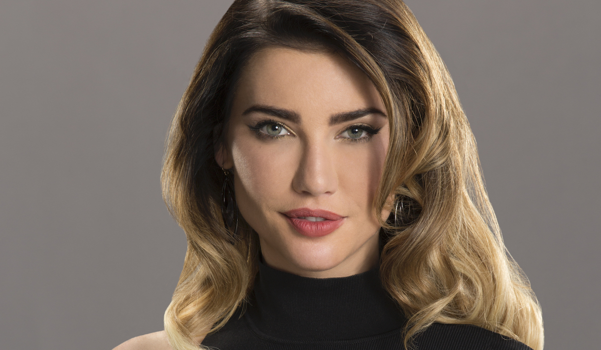 Jacqueline MacInnes Wood as Steffy Forrester Photo: Cliff Lipson/CBS©2015 CBS Broadcasting Inc. All Rights Reserved.