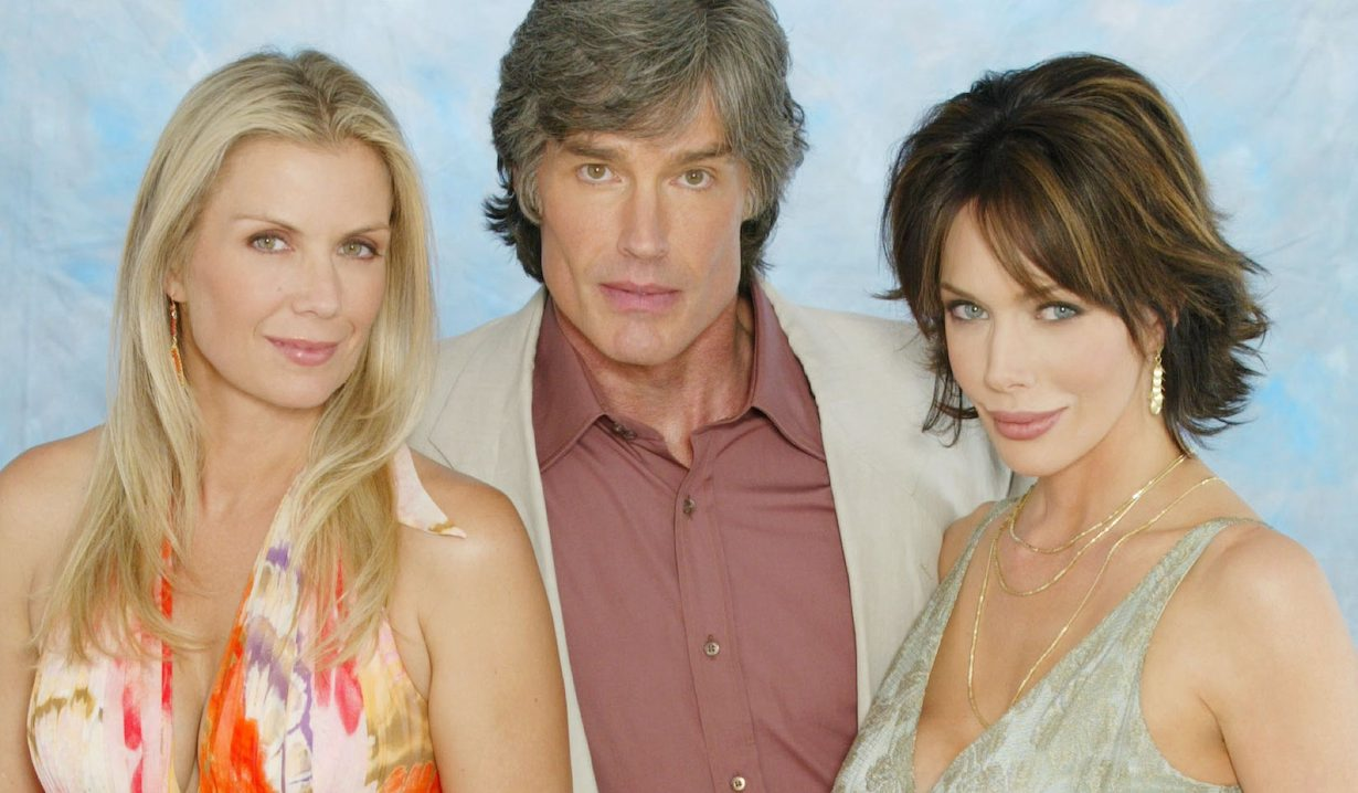 Katherine Kelly Lang, Ronn Moss, Hunter TyloRonn Moss as brooke ridge taylor bold beautiful