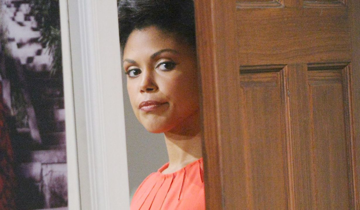 "Karla Mosley ""The Bold and the Beautiful"" maya eavesdropping"