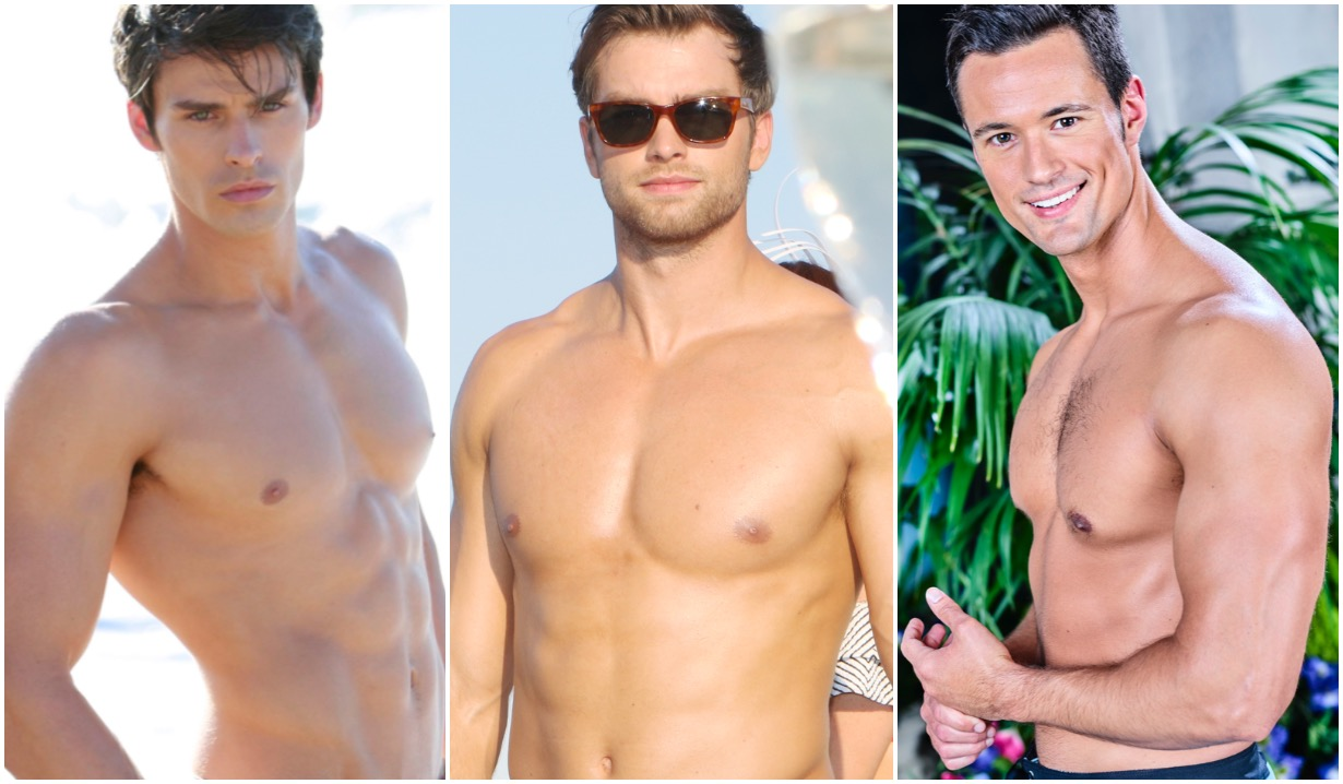 bold beautiful adam gregory pierson fode matthew atkinson thomas shirtless