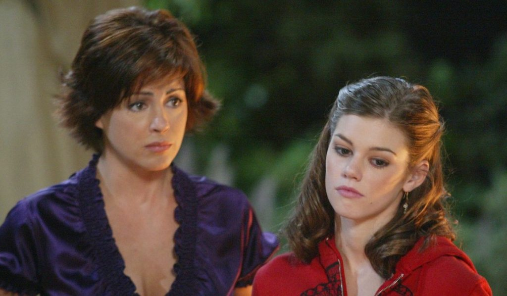Billie Reed and Chelsea Brady on Days of our Lives
