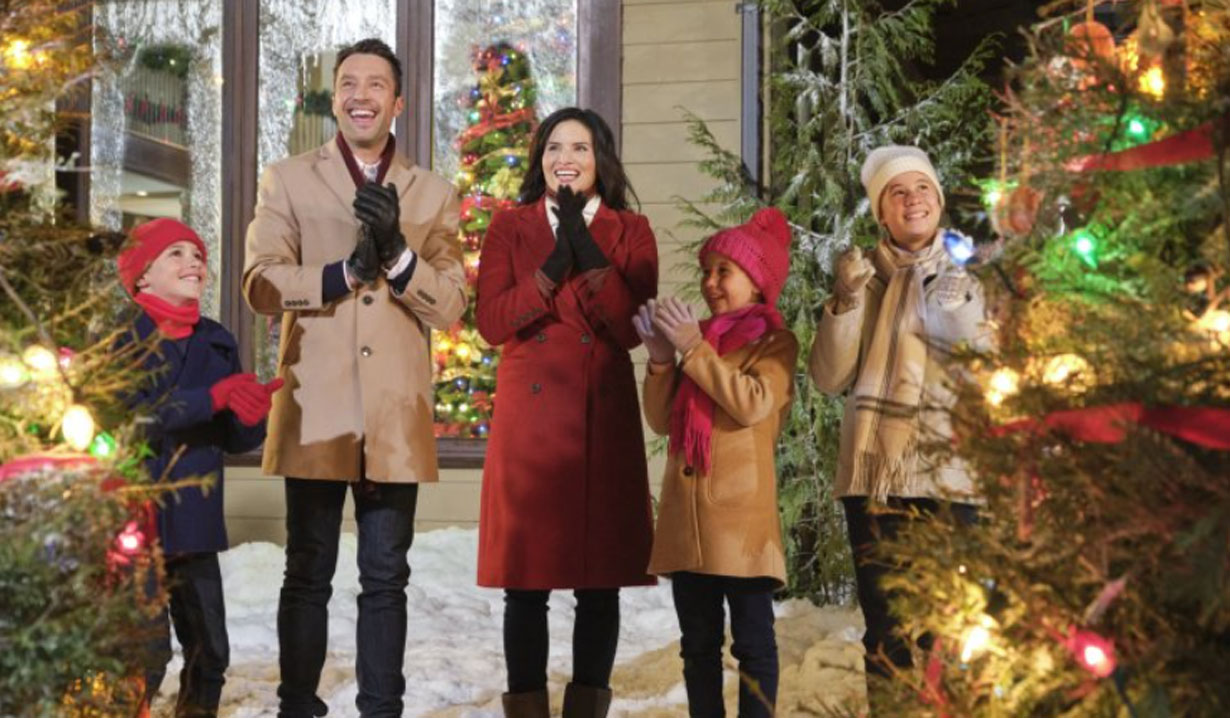 christmas with the darlings Hallmark